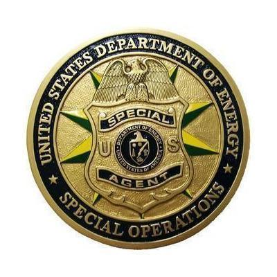 DOE Special Operations Seal Plaque