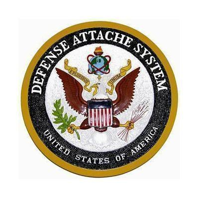 Defense Attache System Seal Plaque