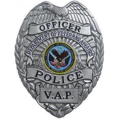 Department Of Veterans Affairs Police Vap Badge Plaque