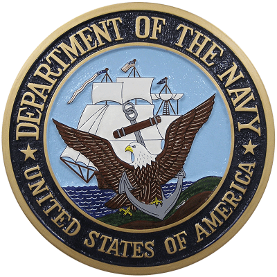 Department of the Navy Plaque