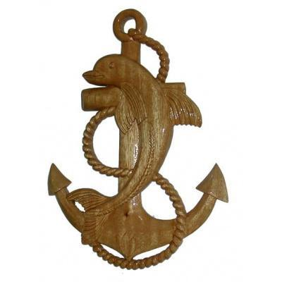 Dolphin Anchor Seafarers Plaque