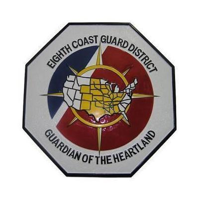 Eighth Coast Guard District Seal Plaque
