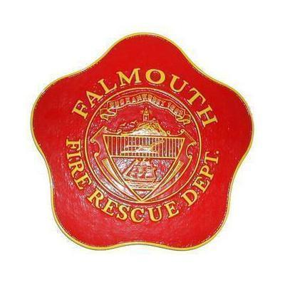 Falmouth Fire Department Firehouse Plaque