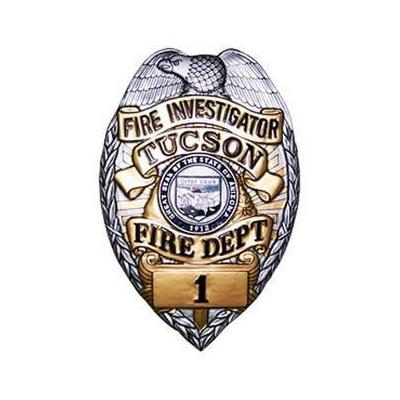 Fire Investigator Badge plaque