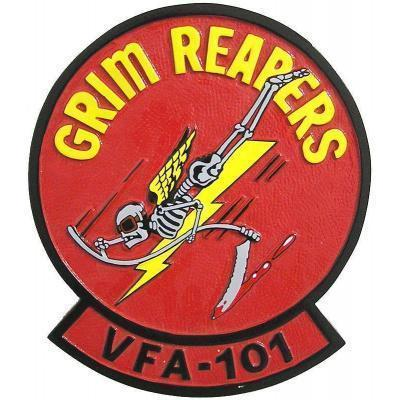 Grim Reapers VFA 101 Plaque