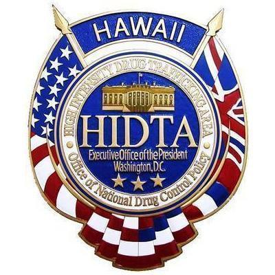 HIDTA Seal Plaque