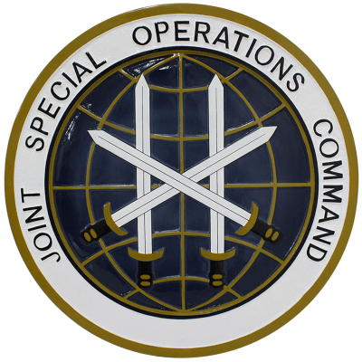 Joint Special Operations Command Seal Plaque