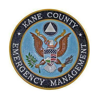 Kane County Emergency Services Plaque