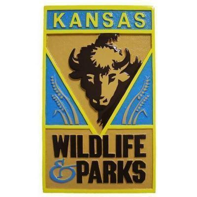 Kansas Wildlife Parks Seal Plaque