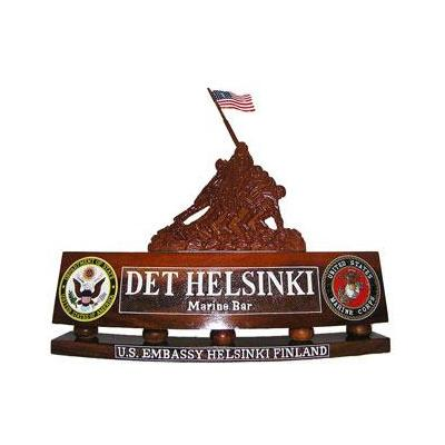 MSG Detachment Helsinki Nameplate