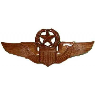 Master Aviator Badge Plaque