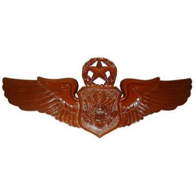 Master Officer Aircrew Member Badge Plaque