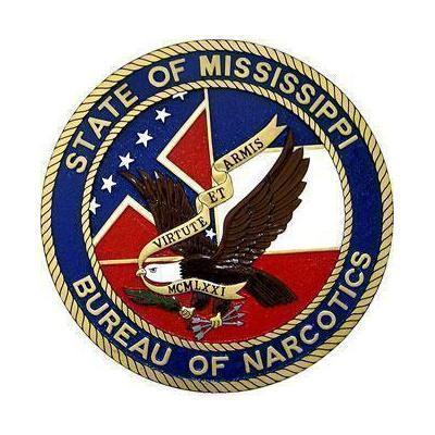 Mississippi Bureau of Narcotics Seal Plaque