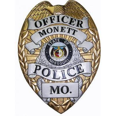Monett Police Officer Badge