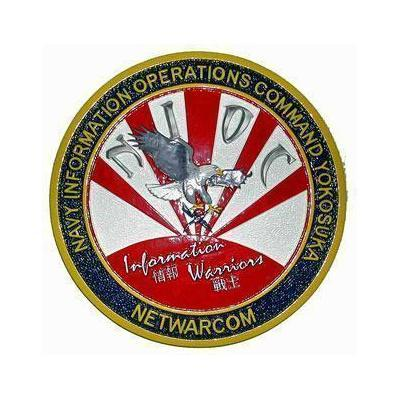 Navy Information Command Plaque