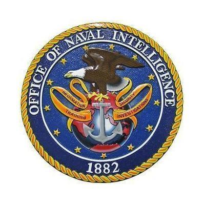 Office of Naval Intelligence Seal Plaque