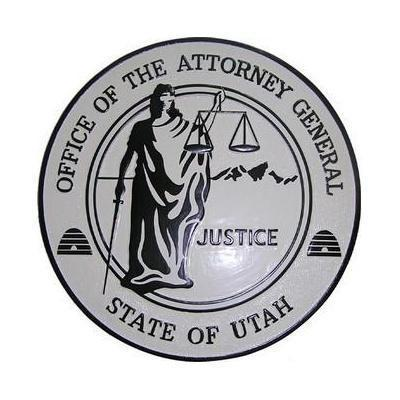 Office of the Atty General State of Utah Seal Plaque