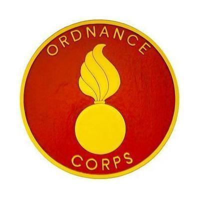 Ordnance Corps Seal Plaque