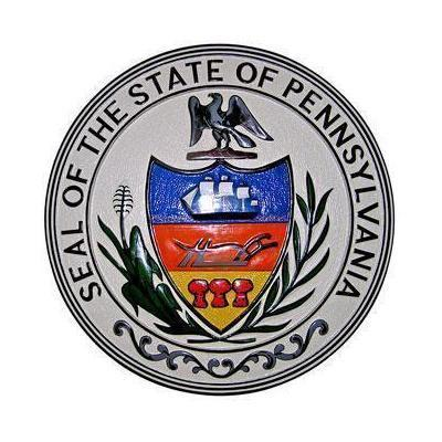 Pennsylvania State Seal Plaque