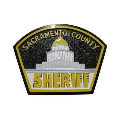 Sacramento County Sheriff Patch Plaque