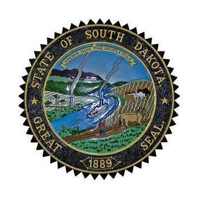 South Dakota State Seal Plaque