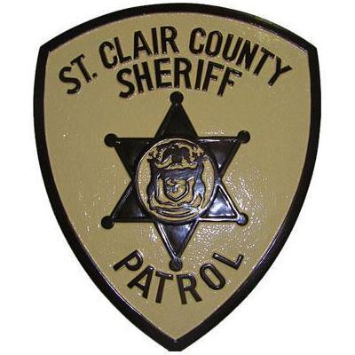 St Clair County Sheriff Patrol Badge
