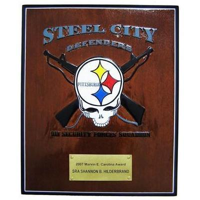 Steel City Defenders Deployment Plaque