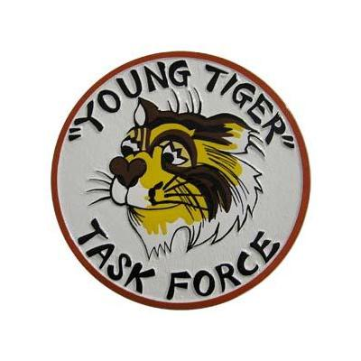 Task Force Young Tiger Plaque