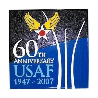 USAF 60th Anniversary Plaque