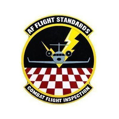 USAF Flight Standards Combat Flight Inspection Emblem Seal Plaque