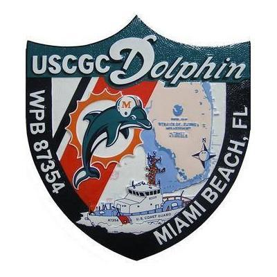 USCG Dolphin Seal Plaque