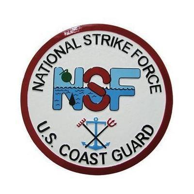USCG NSF Seal Plaque