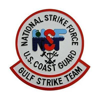 USCG National Strike Force Seal Plaque