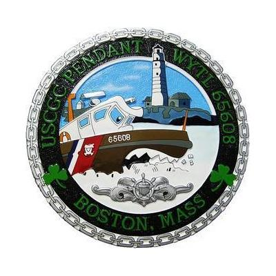 USCG Pendant Seal Plaque