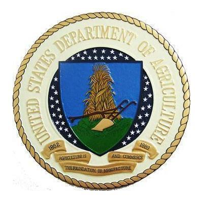 USDA Seal Plaque