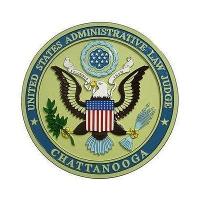 US Administrative Law Judge Chattanooga Seal Plaque