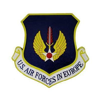 US Air Forces in Europe Plaque