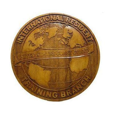 US Coast Guard International Resident Training Branch Plaque