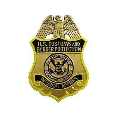 US Customs and Border Protection Badge Plaque