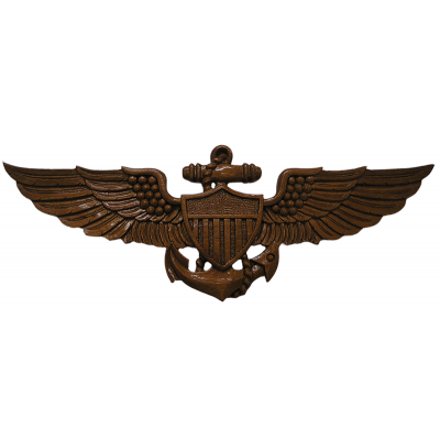 US Naval Aviator Wings Plaque