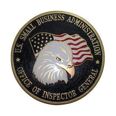 US Small Business Administration Seal Plaque