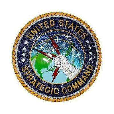 US Strategic Command Seal Plaque