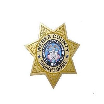 Weber County Sheriff Badge Plaque