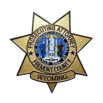 attorney wyoming fremont county badge plaque