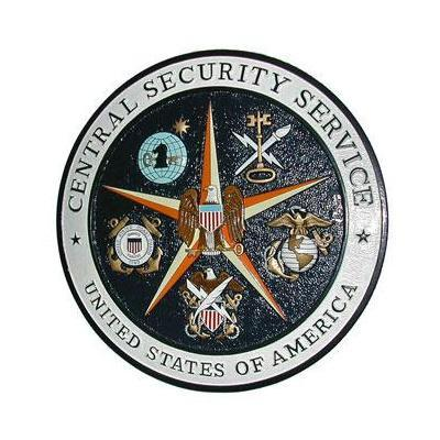 central security service seal plaque css plaque