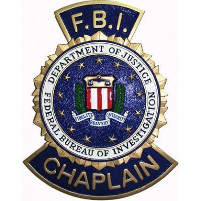 Fbi Chaplain Badge Plaque 💥fbi federal bureau of investigation twin towers special agent badge challenge. fbi chaplain badge plaque