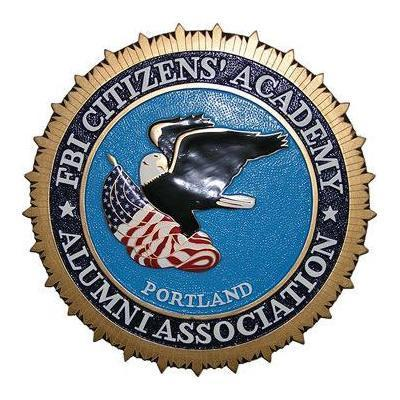 fbi citizens academy alumni association plaque