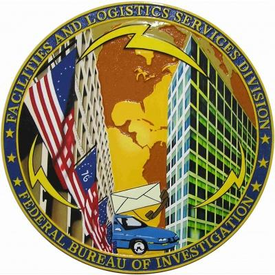 fbi facilities and logistics services division plaque