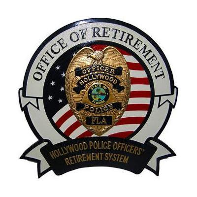 hollywood police officers retirement system seal