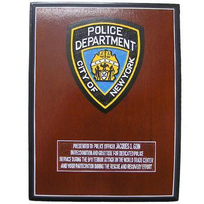 new-york-police-officer-presentation-plaque 2009837589